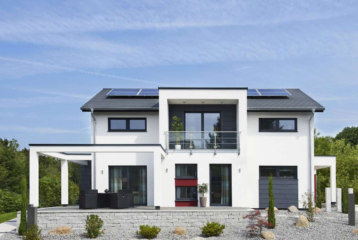 Musterhaus Innovation R Bad Vilbel - Terrasse