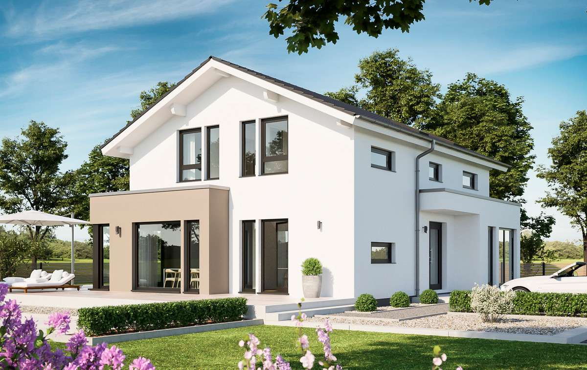 Living Haus – SUNSHINE 144 Bad Vilbel - Living Fertighaus ...