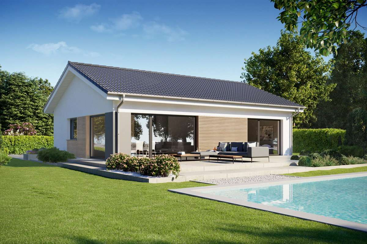 Perfect 86 Bungalow mit Pool