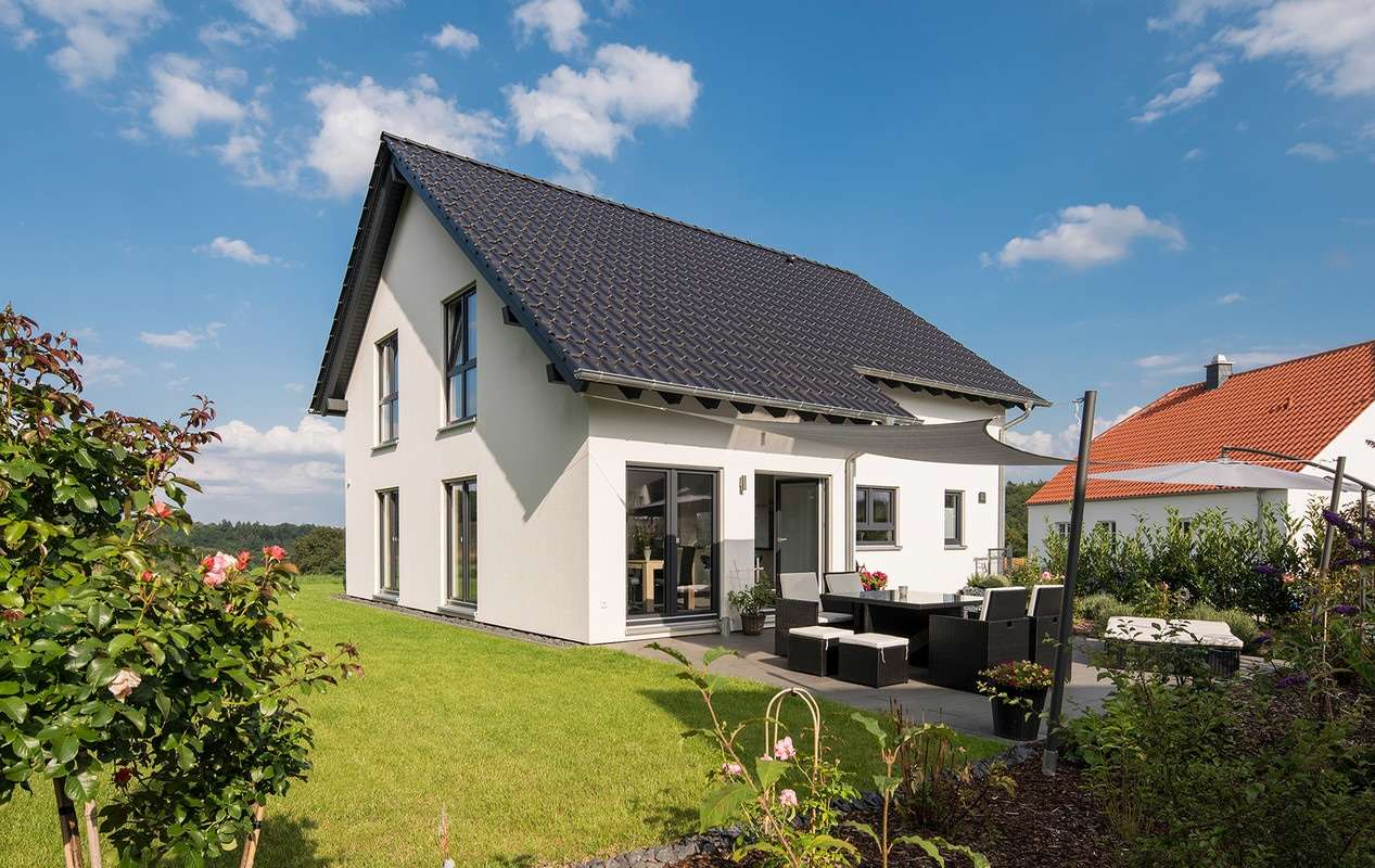 Haus in Hanglage