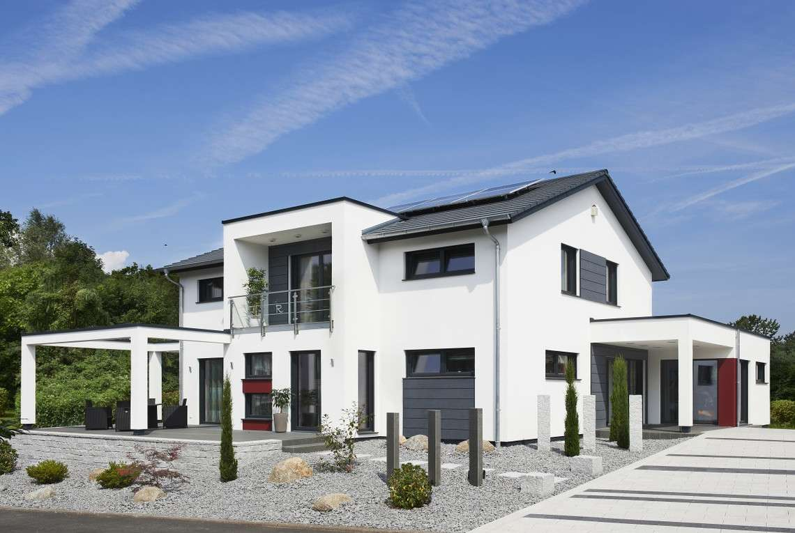 Musterhaus Innovation R Bad Vilbel - Eingang
