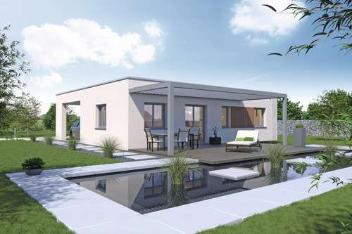 Moderner Bungalow aus der Baureihe myLife
